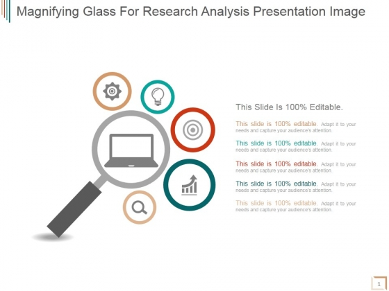 Magnifying Glass For Research Analysis Ppt PowerPoint Presentation Topics