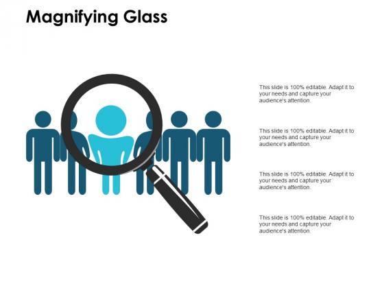 Magnifying Glass Marketing Ppt PowerPoint Presentation Ideas Smartart