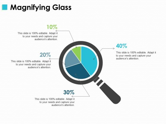 Magnifying Glass Marketing Ppt PowerPoint Presentation Introduction