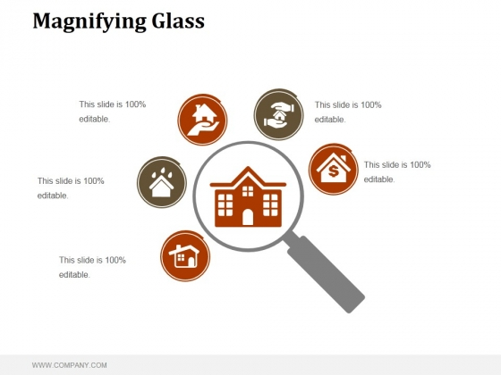 Magnifying Glass Ppt PowerPoint Presentation Clipart