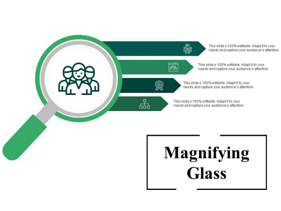 Magnifying Glass Ppt PowerPoint Presentation File Background Designs