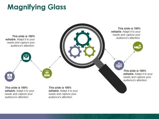Magnifying Glass Ppt PowerPoint Presentation Gallery Graphics Design