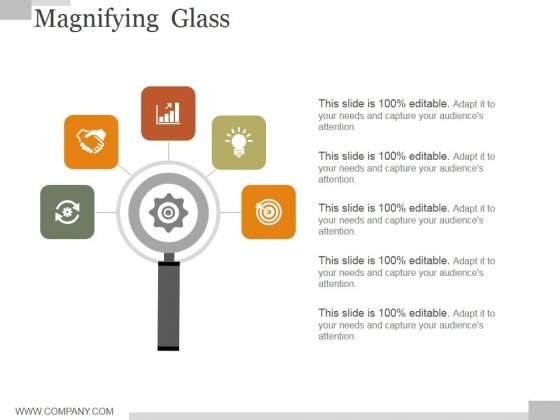 Magnifying Glass Ppt PowerPoint Presentation Graphics