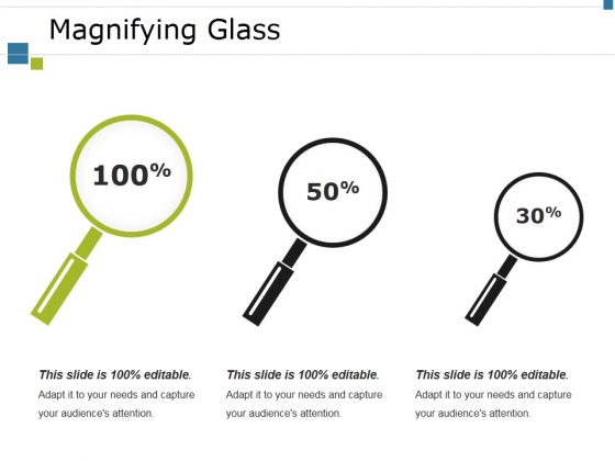 Magnifying Glass Ppt PowerPoint Presentation Infographics Demonstration