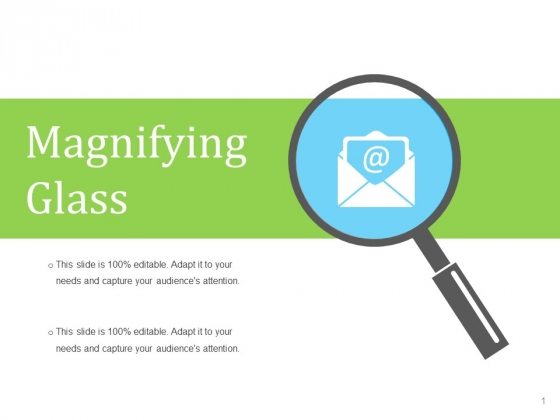 Magnifying Glass Ppt PowerPoint Presentation Inspiration Gridlines