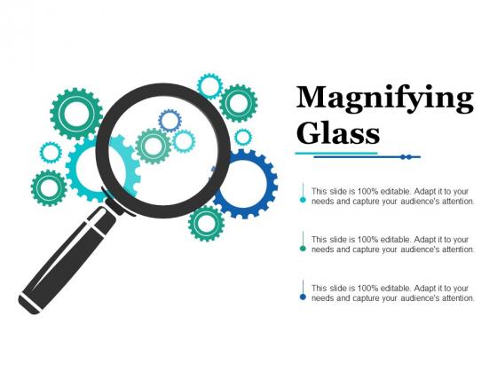 Magnifying Glass Ppt PowerPoint Presentation Model Portrait