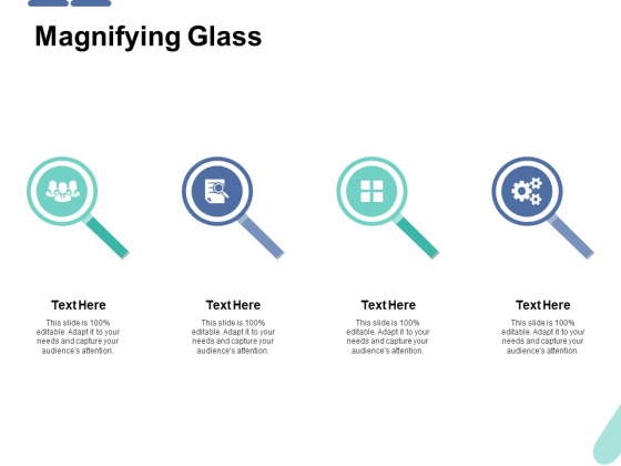 Magnifying Glass Ppt PowerPoint Presentation Pictures Clipart