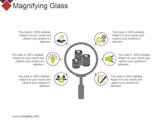 Magnifying Glass Ppt PowerPoint Presentation Portfolio Layout