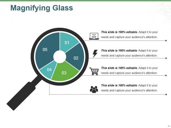 Magnifying Glass Ppt PowerPoint Presentation Portfolio Shapes