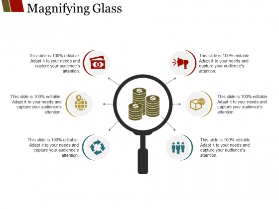 Magnifying Glass Ppt PowerPoint Presentation Professional Grid