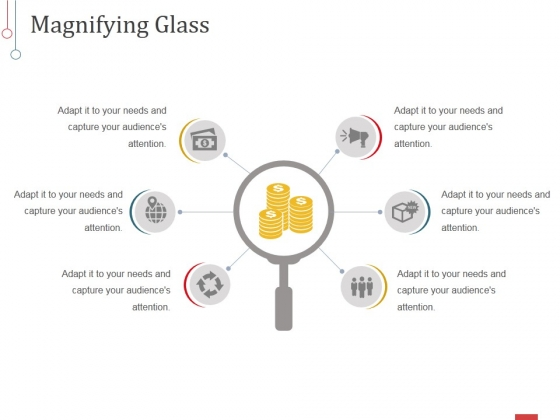 Magnifying Glass Ppt PowerPoint Presentation Show Master Slide