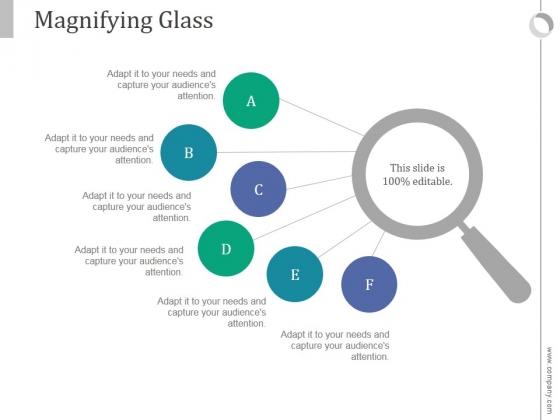 Magnifying Glass Ppt PowerPoint Presentation Slide