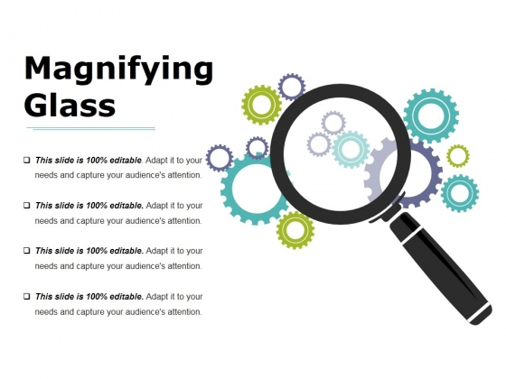 Magnifying Glass Ppt PowerPoint Presentation Summary Deck