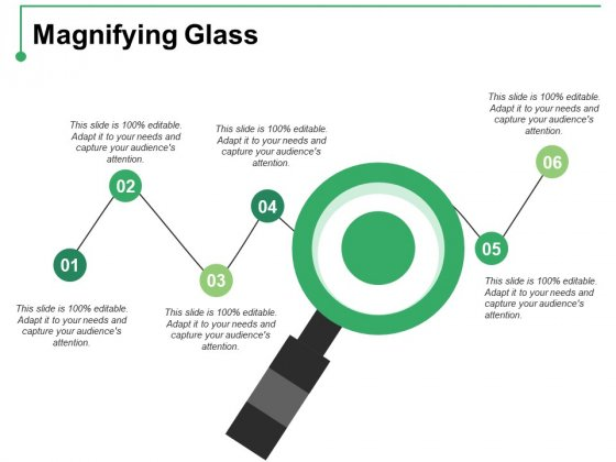 Magnifying Glass Ppt PowerPoint Presentation Visual Aids Inspiration
