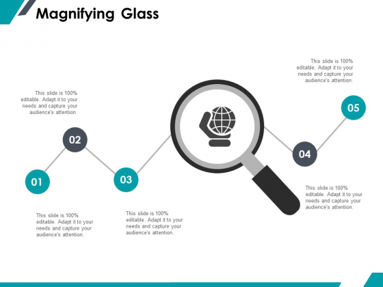Magnifying Glass Research Marketing Ppt PowerPoint Presentation Icon Format