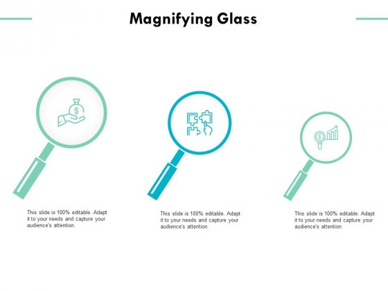 Magnifying Glass Strategy Business Ppt PowerPoint Presentation Pictures Model