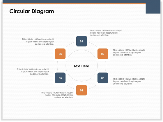 Main Revenues Progress Levers For Each Firm And Sector Circular Diagram Infographics PDF