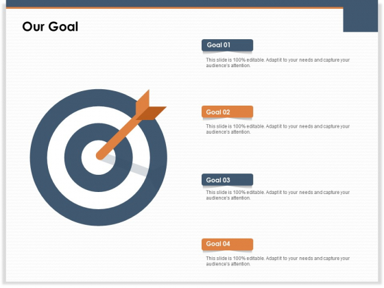Main Revenues Progress Levers For Each Firm And Sector Our Goal Ppt Portfolio Layouts PDF