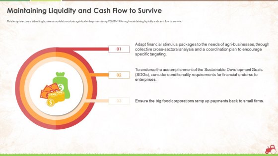 Maintaining Liquidity And Cash Flow To Survive Ppt Outline Example Topics PDF