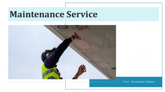 Maintenance Service Wearing Mask Ppt PowerPoint Presentation Complete Deck With Slides