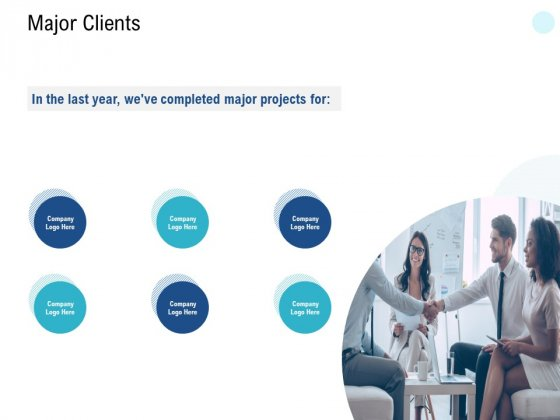 Major Clients Logo Ppt PowerPoint Presentation Infographic Template Show