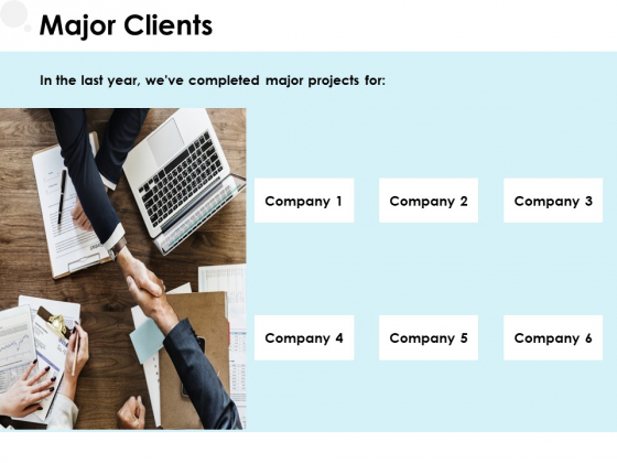 Major Clients Management Ppt PowerPoint Presentation Professional Layouts