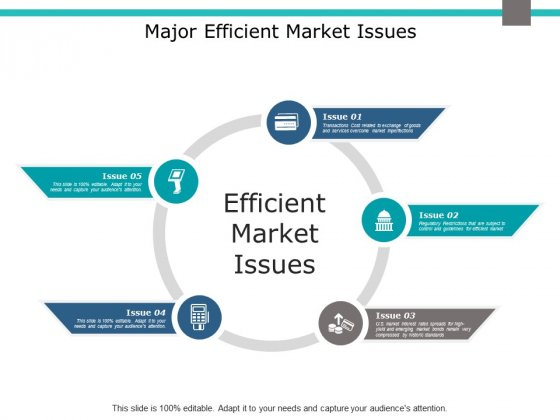 Major Efficient Market Issues Ppt PowerPoint Presentation Inspiration Brochure