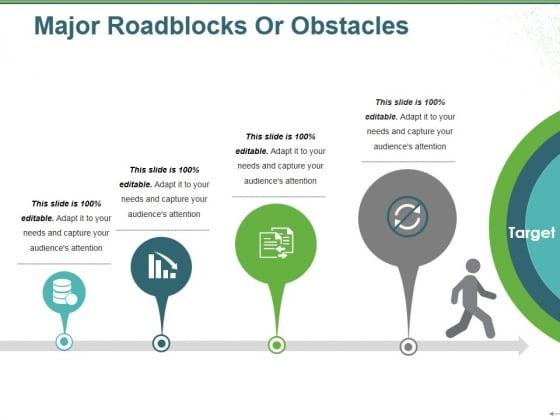 Major Roadblocks Or Obstacles Ppt PowerPoint Presentation Ideas Format