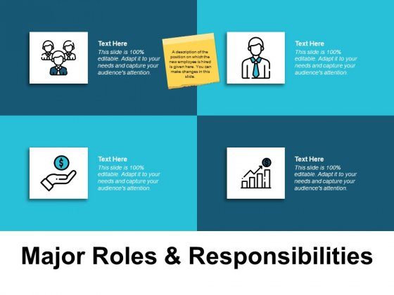Major Roles And Responsibilities Ppt PowerPoint Presentation Infographic Template Mockup