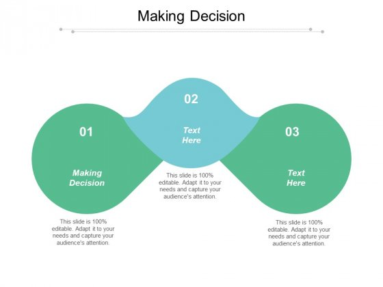 Making Decision Ppt PowerPoint Presentation Styles Elements Cpb