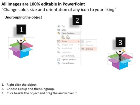 Man_In_Open_Box_With_Trophy_Powerpoint_Templates_2