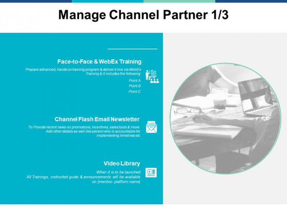 Manage Channel Partner Marketing Ppt PowerPoint Presentation Gallery Layout