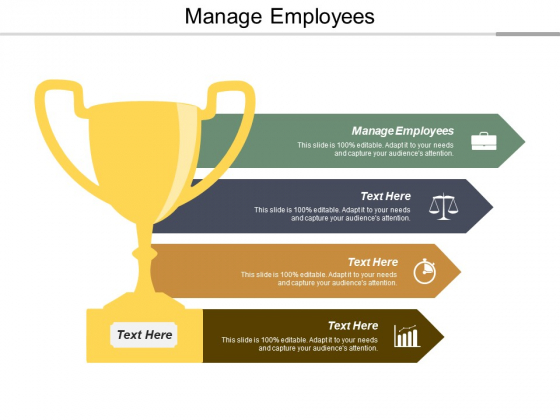 Manage Employees Ppt PowerPoint Presentation Professional Templates Cpb