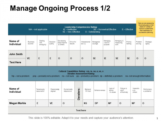 Manage Ongoing Process Strategy Ppt PowerPoint Presentation Portfolio Visual Aids