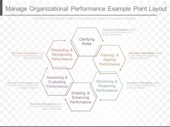 Manage Organizational Performance Example Point Layout