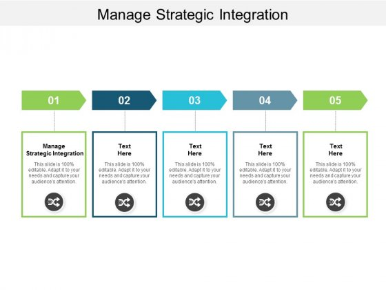 Manage Strategic Integration Ppt Powerpoint Presentation Infographic Template Graphics Cpb