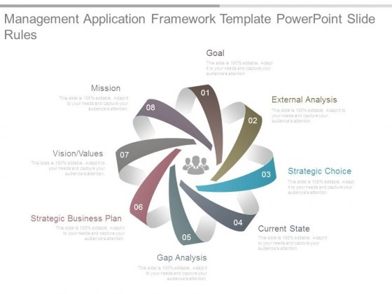 gap analysis powerpoint templates, slides and graphics, Modern powerpoint