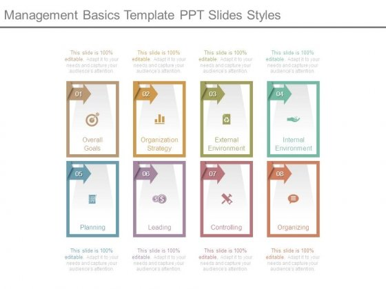 Management Basics Template Ppt Slides Styles