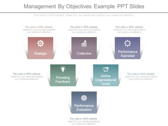Management By Objectives Example Ppt Slides