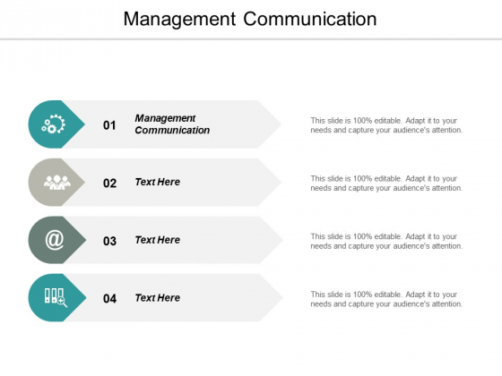 Management Communication Ppt PowerPoint Presentation Icon Styles Cpb