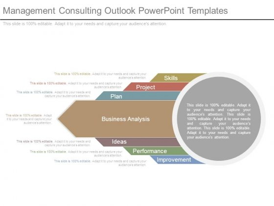 Management Consulting Outlook Powerpoint Templates