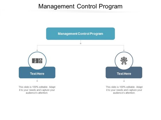 Management Control Program Ppt PowerPoint Presentation Infographic Template Example 2015 Cpb