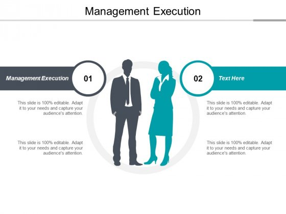 Management Execution Ppt PowerPoint Presentation Outline Objects Cpb