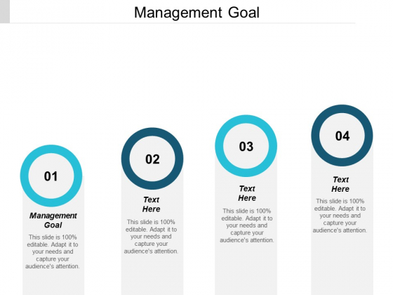 Management Goal Ppt PowerPoint Presentation Icon Styles Cpb