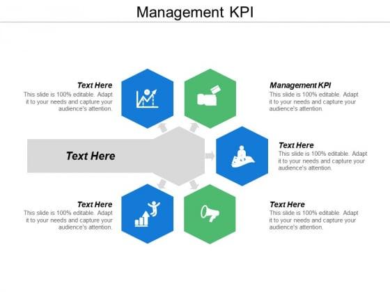 Management Kpi Ppt Powerpoint Presentation Diagram Graph Charts Cpb