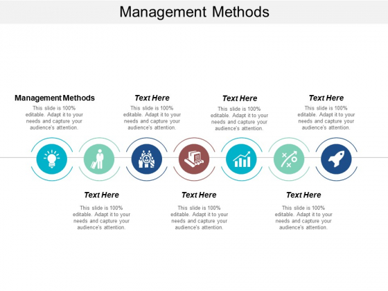 Management Methods Ppt PowerPoint Presentation File Vector Cpb