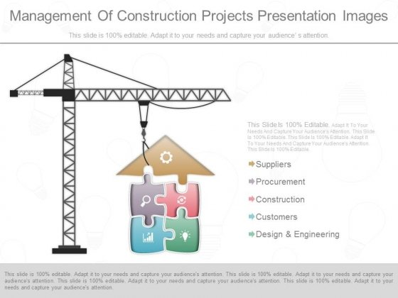 Management Of Construction Projects Presentation Images