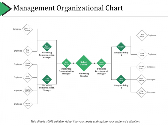 Management Organizational Chart Ppt PowerPoint Presentation Icon Background Images
