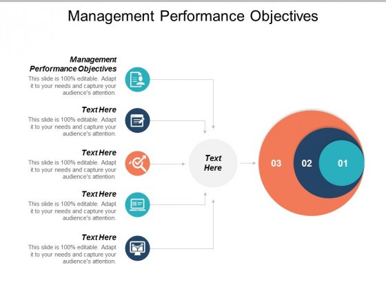 Management Performance Objectives Ppt PowerPoint Presentation Summary Demonstration Cpb