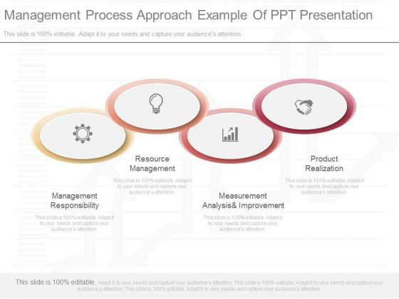Management Process Approach Example Of Ppt Presentation